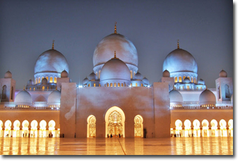 Sheikh Zayed Grand Mosque in Abu Dhabi Concept Voyages