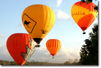 Hot Air Balloon Tour in Cairns Concept Voyages