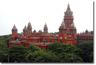 Chennai High Court complex Concept Voyages