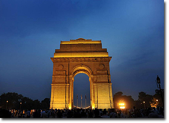 Delhi India Gate Concept Voyages