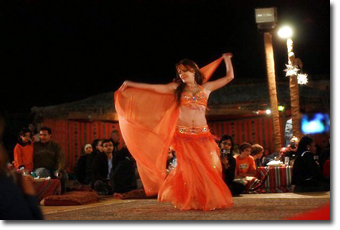 Belly Dance Show in Dubai Desert Safari Tour Concept Voyages