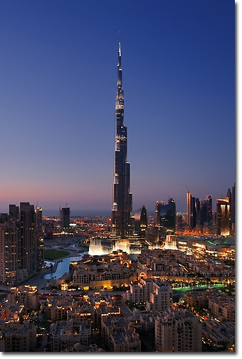 Burj Khalifa Tower in Dubai Concept Voyages