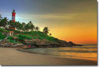 Kovalam Beach in Kerala Concept Voyages