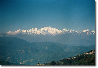 Mount Kanchenjunga from Darjeeling Concept Voyages