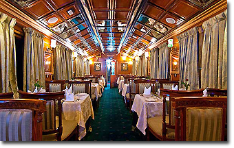 Palace on Wheels Luxury Train Concept Voyages