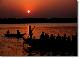 Varanasi Boat ride on holy River Ganga Concept Voyages