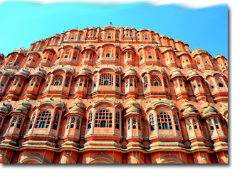 Jaipur Palace of Winds Hawa Mahal Concept Voyages